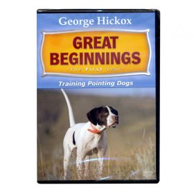 George Hickox Great beginnings DVD - Pointing Dogs