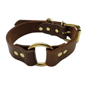 Oil Tanned Leather Hunt Collar